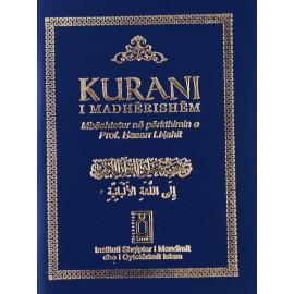 Kurani i madhërishëm mbështetur në përkthimin e Prof. Hasan I. Nahi